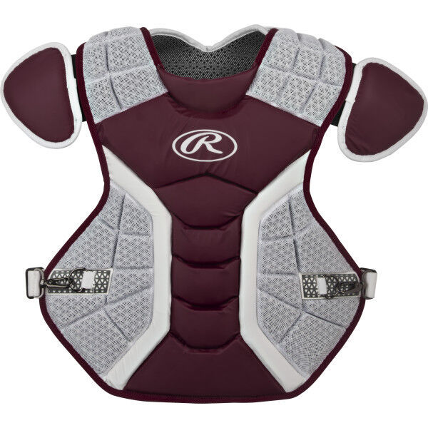 Pro Preferred Adult Chest Protector Maroon