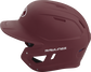 MACH Rawlings batting helmet with a one-tone matte maroon shell image number null