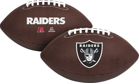 NFL Oakland Raiders Air-It-Out youth football with team logo