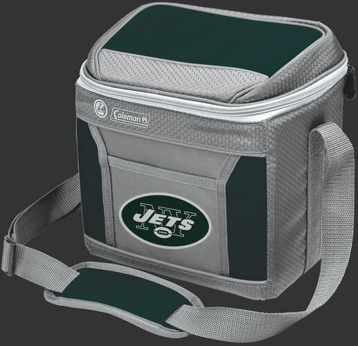 Rawlings New York Jets 9 Can Cooler In Team Colors With Team Logo On Front SKU #03281079111