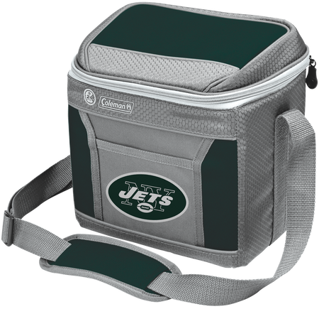 NFL New York Jets 9 Can Cooler