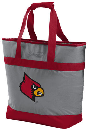 Rawlings Louisville Cardinals 30 Can Tote Cooler In Team Colors With Team Logo On Front SKU #07883078111