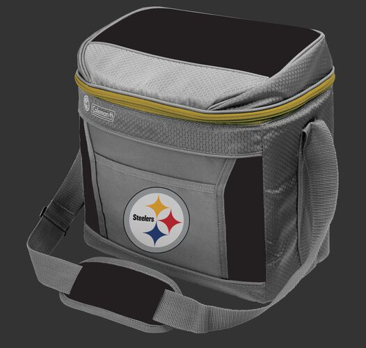 Rawlings Pittsburgh Steelers 16 Can Cooler In Team Colors With Team Logo On Front SKU #03291082111