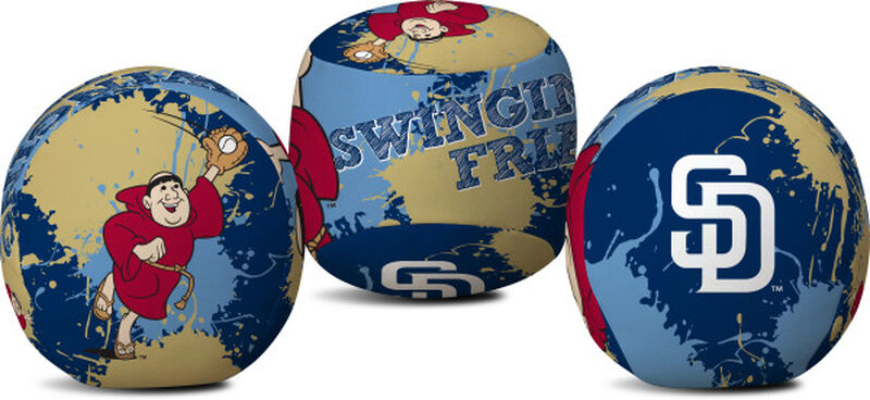 Rawlings San Diego Padres Quick Toss 4'' Softee Baseball With Team Mascot On Front In Team Colors SKU #01320019114