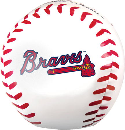 MLB Atlanta Braves Big Boy 8 in Softee Baseball