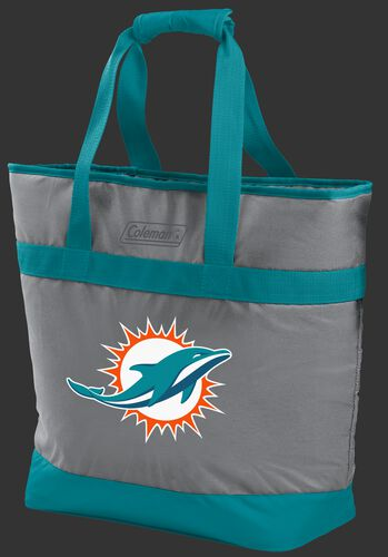 Rawlings Miami Dolphins 30 Can Tote Cooler In Team Colors With Team Logo On Front SKU #07571074111