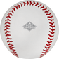 The 2019 MLB Postseason logo stamped on the ALCS19DL 2019 ALCS dueling baseball image number null