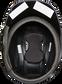 Inside padding of a black Rawlings Mach single ear helmet - SKU: MSE01A-LHB image number null