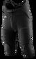 Front of Rawlings Black Youth Integrated Football Pant - SKU #F1500P