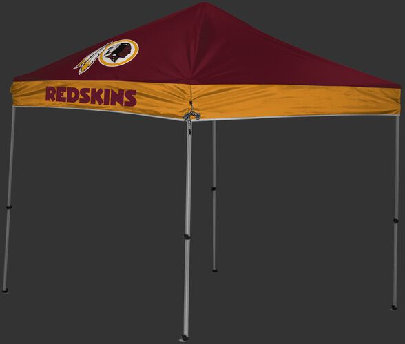 Rawlings Burgundy and Gold NFL Washington Redskins 9x9 Canopy Shelter With Team Logo and Name SKU #03231087111