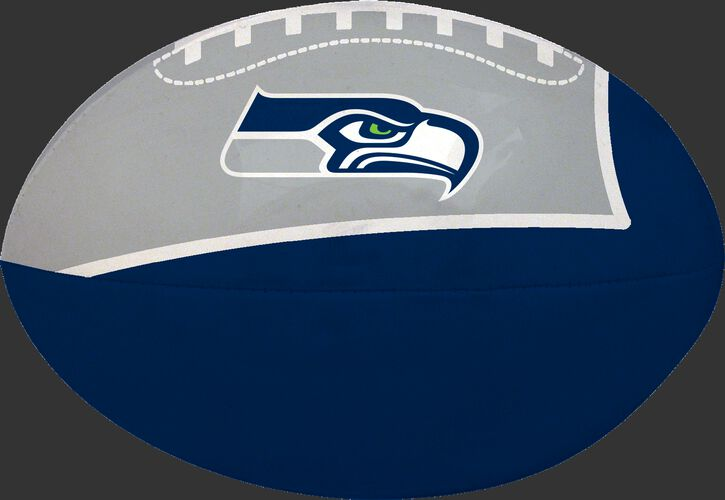 Navy and Grey NFL Seattle Seahawks Football With Team Logo SKU #07831085112