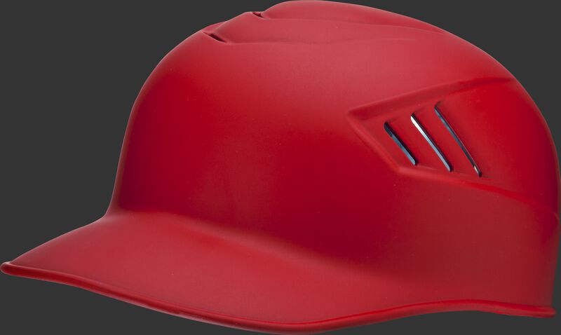 Adult Coolflo Base Coach Helmet Scarlet