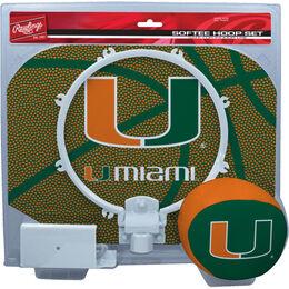 NCAA Miami Hurricanes Hoop Set