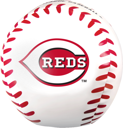 MLB Cincinnati Reds Big Boy 8 in Softee Baseball