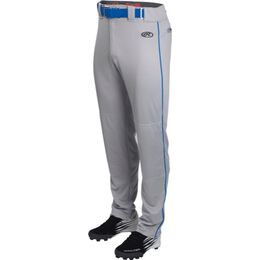 Adult Launch Piped Semi-Relaxed Baseball Pant