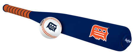 MLB Detroit Tigers Foam Bat and Ball Set