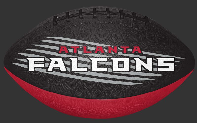 Black and Red NFL Atlanta Falcons Downfield Youth Football With Team Name SKU #07731060121