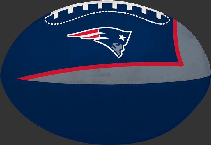 Navy and Grey NFL New England Patriots Football With Team Logo SKU #07831076114