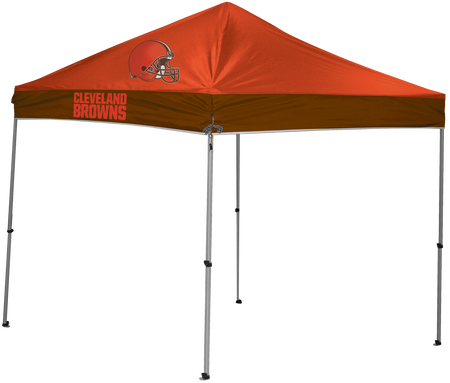 NFL Cleveland Browns 9x9 shelter with 4 team logos