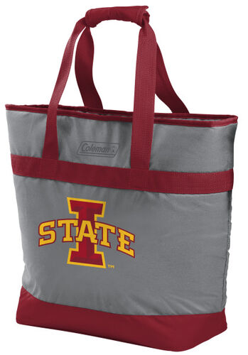 Rawlings Iowa State Cyclones 30 Can Tote Cooler In Team Colors With Team Logo On Front SKU #07883031111