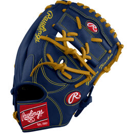Blue/Gold Custom Glove