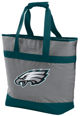 Rawlings Philadelphia Eagles 30 Can Tote Cooler In Team Colors With Team Logo On Front SKU #07571080111