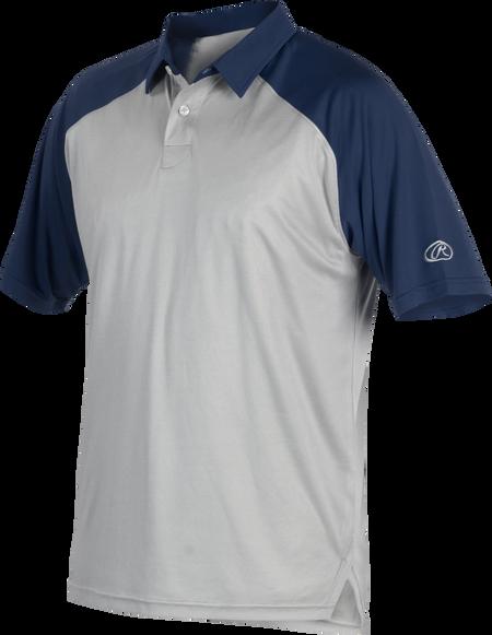 Rawlings CLM3 défendre les 9 T-shirt de baseball//tee shirt Adulte Bleu Marine Différentes Tailles