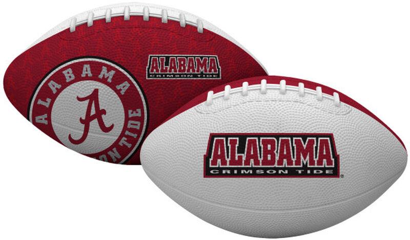 Crimson and White NCAA Alabama Crimson Tide Gridiron Football With Team Name and Logo SKU #07203066122