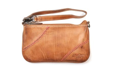 Baseball Stitch Wristlet