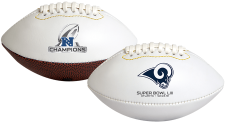 2019 NFC Champions Los Angeles Rams Youth Size Football