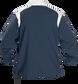 Back of Rawlings Navy Adult Long Sleeve Quarter-Zip Jacket - SKU #FORCEJ-B-88 image number null