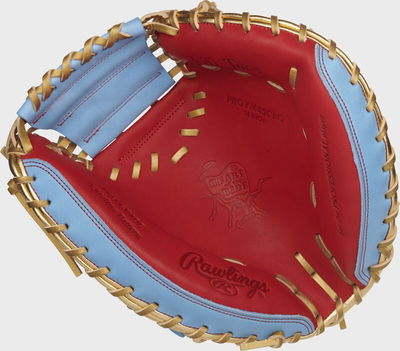 2021 Exclusive Heart of the Hide 34-Inch Catcher's Mitt | Yadier Molina Pattern