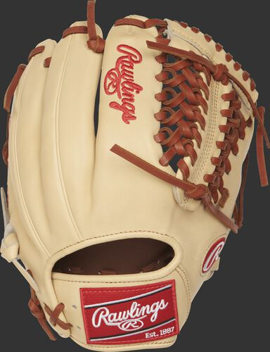 PRO205-4CT 11.75-inch Rawlings Modified Trap-Eze web glove with a camel back