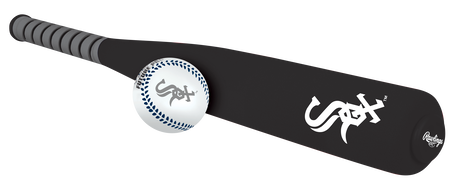 MLB Chicago White Sox Foam Bat and Ball Set