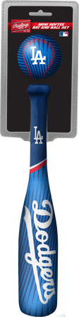 MLB Los Angeles Dodgers Slugger Softee Mini Bat and Ball Set