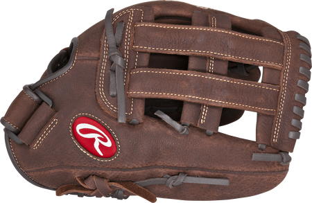 P130HFL Player Preferred 13-inch outfield glove with a brown thumb and brown H web