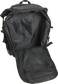 A black Rawlings CEO coach's backpack with the main compartment open - SKU: CEOBP-B image number null