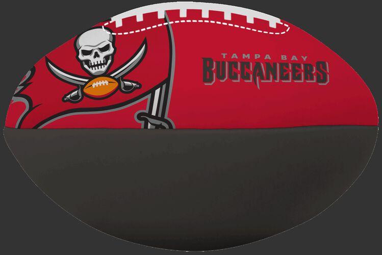 NFL Tampa Bay Buccaneers Big Boy softee football in team colors and featuring team logos SKU #03211086111