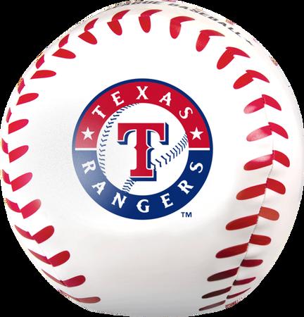 MLB Texas Rangers Big Boy 8 in Softee Baseball