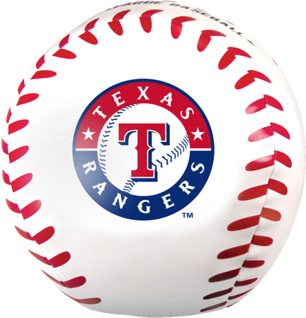 MLB Texas Rangers Big Boy 8 in Softee Baseball