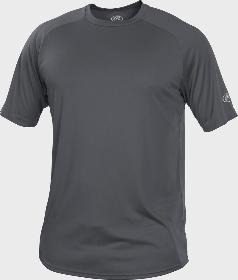 RTT Gray Adult crew neck short sleeve jersey
