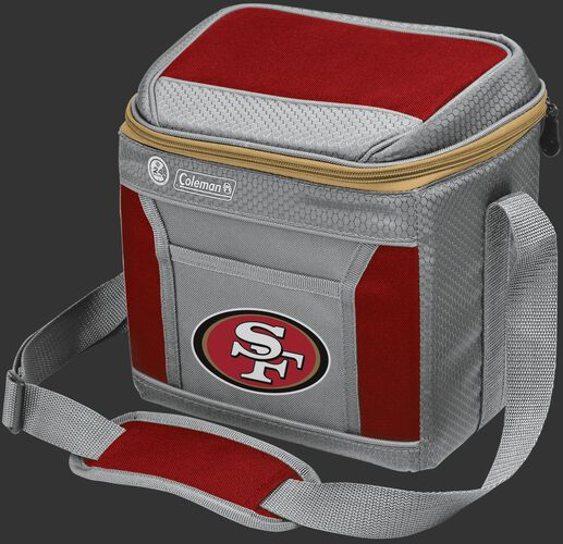 Rawlings San Francisco 49ers 9 Can Cooler In Team Colors With Team Logo On Front SKU #03281084111