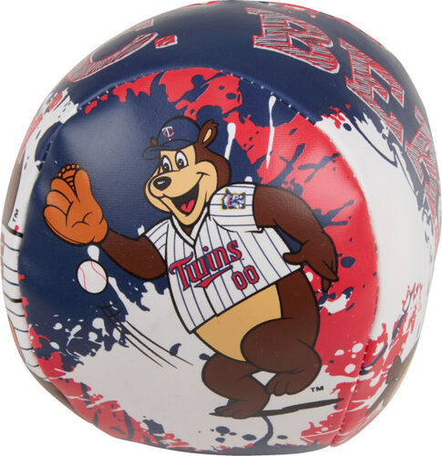Rawlings Minnesota Twins Quick Toss 4'' Softee Baseball With Team Mascot On Front In Team Colors SKU #01320028113