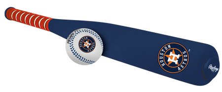 MLB Houston Astros Foam Bat and Ball Set