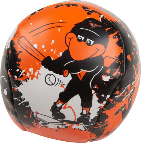 Rawlings Baltimore Orioles Quick Toss 4'' Softee Baseball With Team Mascot On Front In Team Colors SKU #01320018112