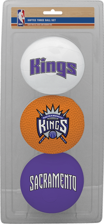 NBA Sacramento Kings Three-Point Softee Basketball Set