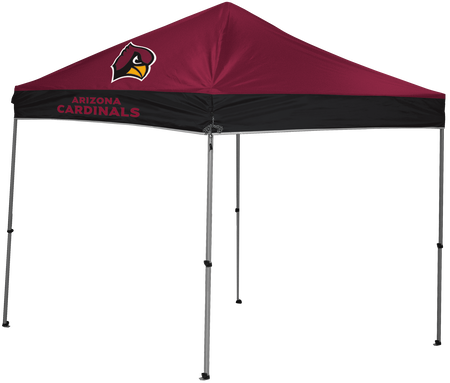 NFL Arizona Cardinals 9x9 shelter with team logos and colors