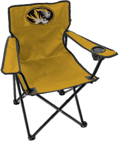 Front of Rawlings Yellow NCAA Missouri Tigers Gameday Elite Chiar With Team Logo SKU #00563086111