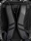 Back of a black Rawlings Franchise backpack with gray shoulder straps - SKU: FRANBP-B image number null