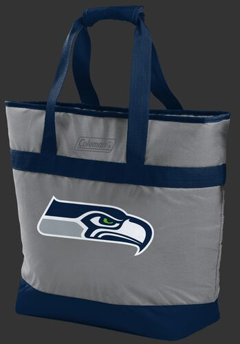 Rawlings Seattle Seahawks 30 Can Tote Cooler In Team Colors With Team Logo On Front SKU #07571085111